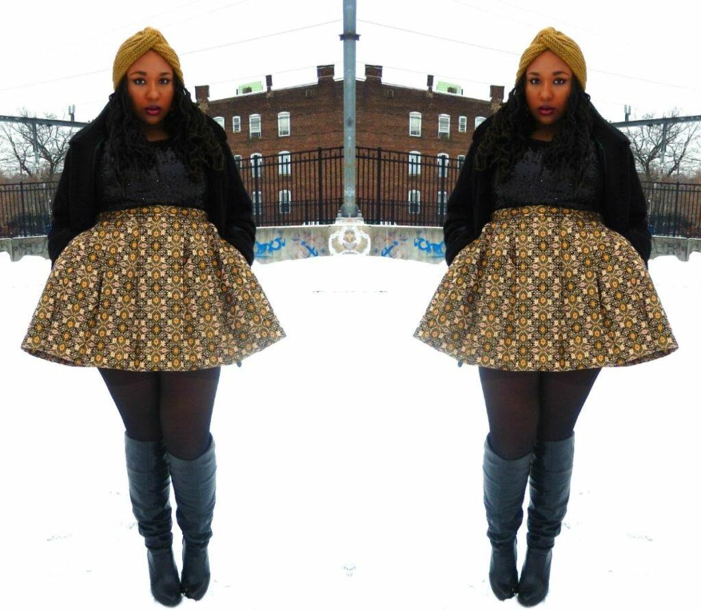 Winter Lookbook; Tapestry & Sequin