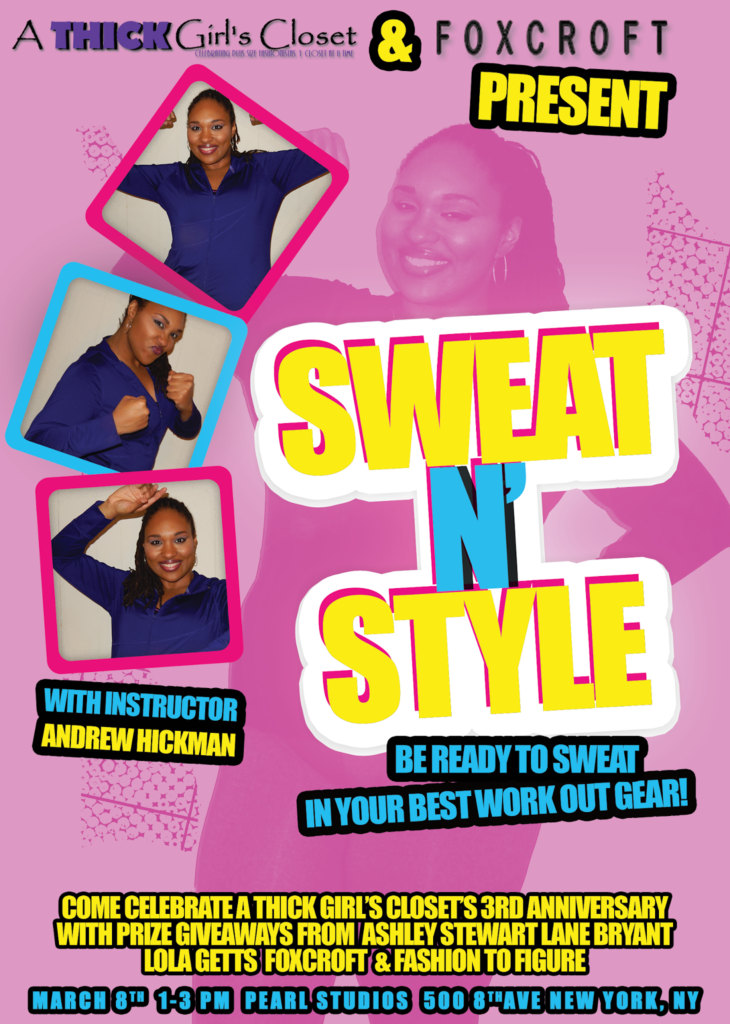 Sweat N' Style Party