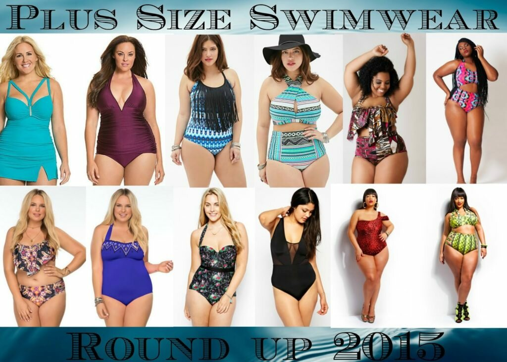 plus size swimwear