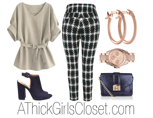 Plus Size Outfit; Profess-ish