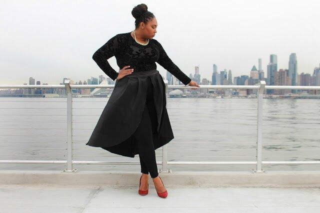 fashion to figure shirt, fashion to figure pants, shoedazzle shoes
