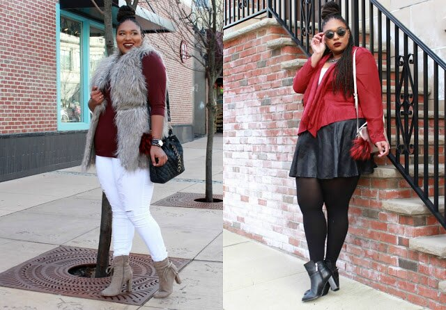 plus size blogger styles new arrivals from Gwynnie Bee
