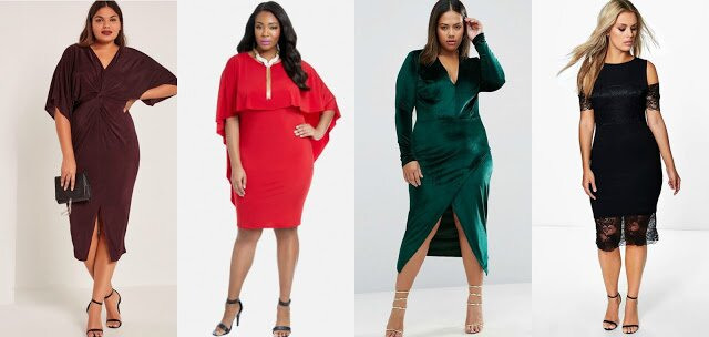 Plus Size Holiday Dress UNDER $60