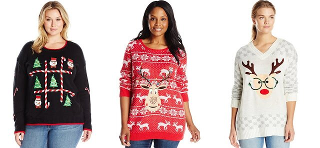 plus size ugly sweaters