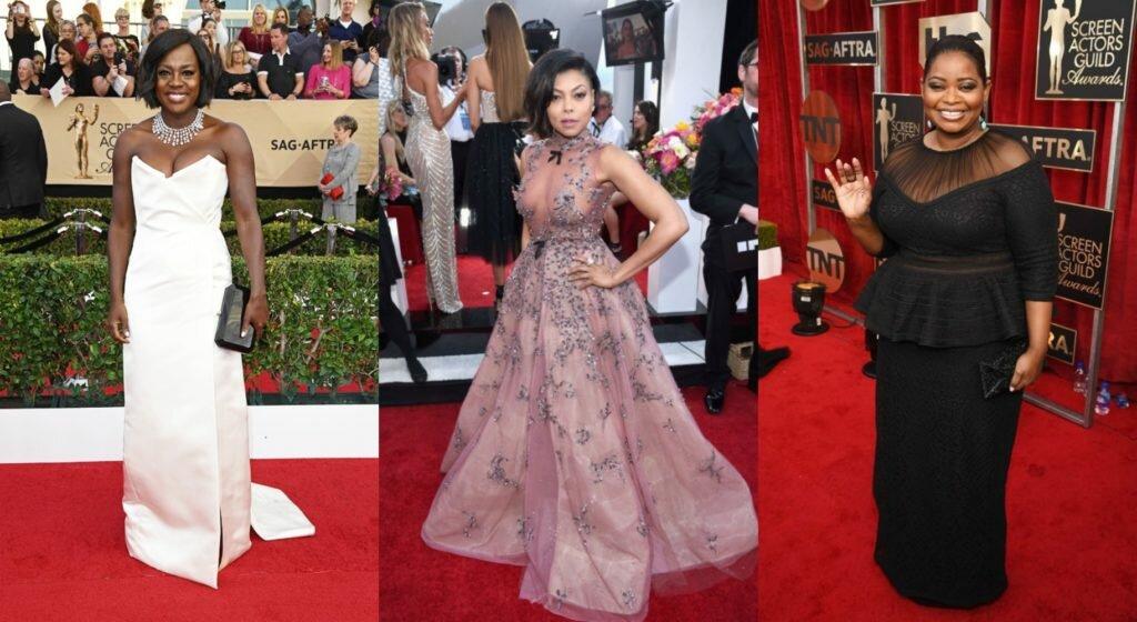 2017 SAG Awards Red Carpet Styles