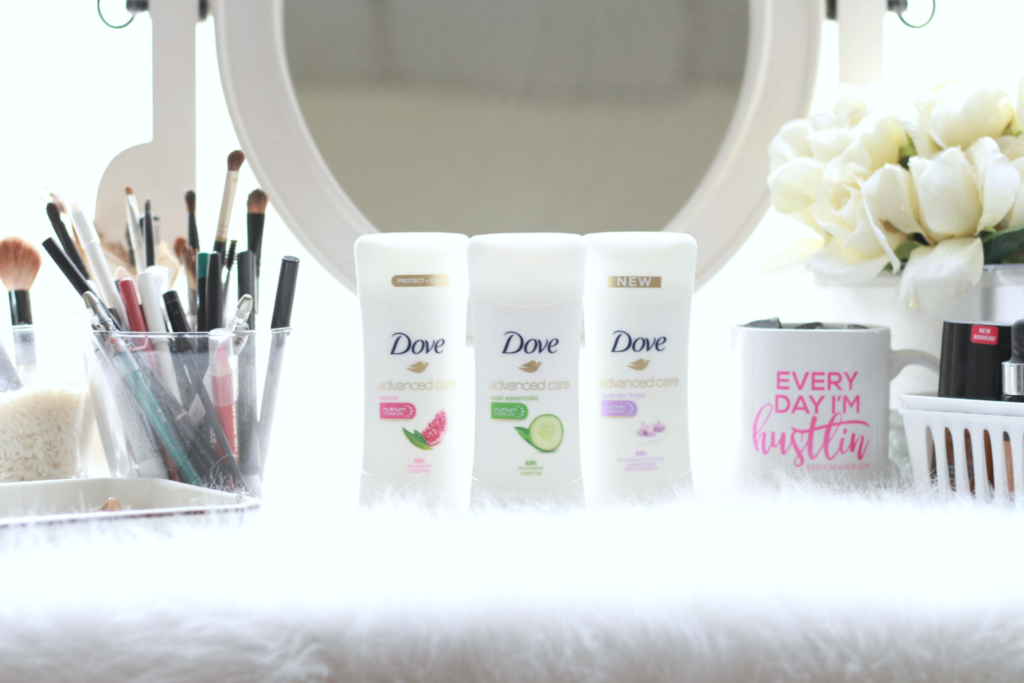 Staying Fresh with Dove Advanced Care