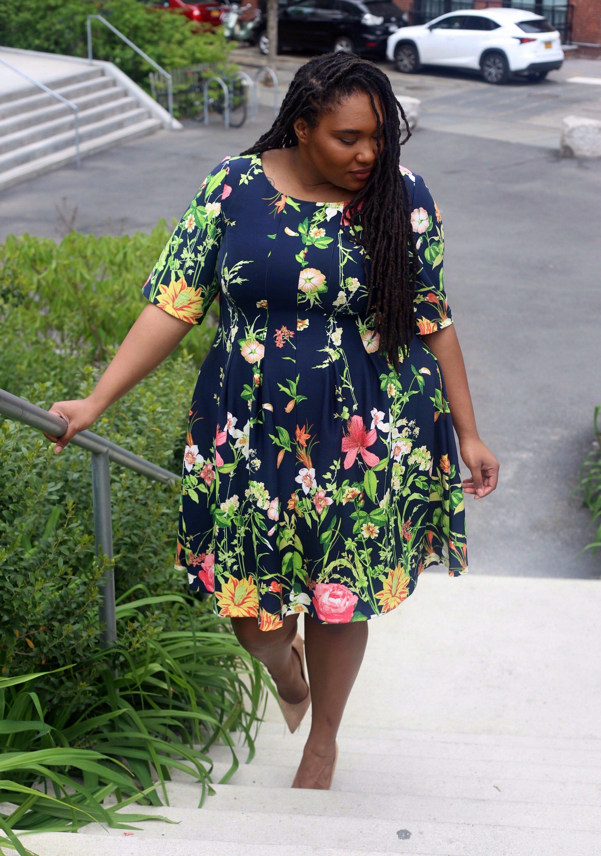 Gabby Style fit and flare dress