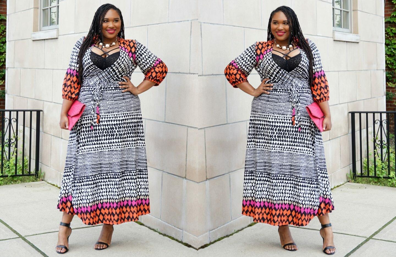 7 Must-Have Plus Size Wrap Dresses