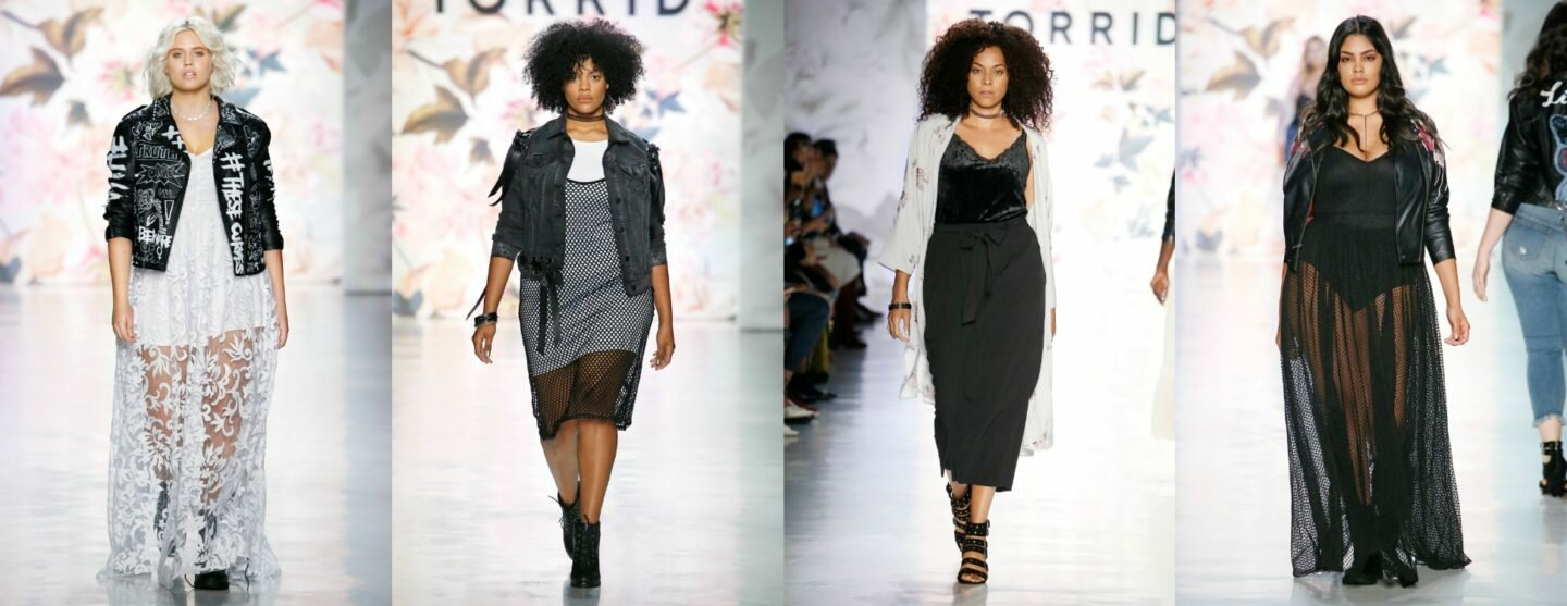 Torrid Shows up at NYFW