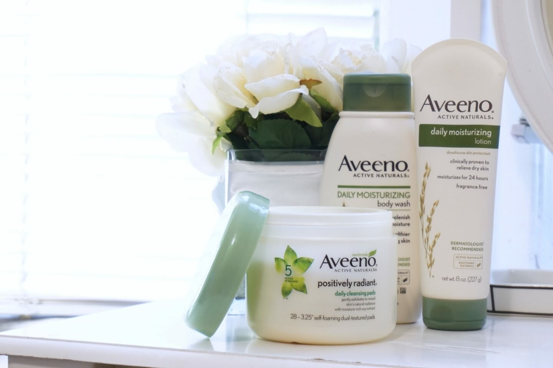 Keeping my Skin Soft with Aveeno