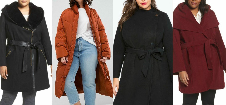 plus size winter coats
