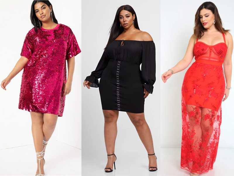 Plus Size Valentine's Outfits